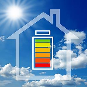 Batterie maison photovoltque solaire
